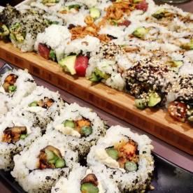 Japanese Garden Roll (Maki)